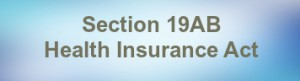 section 19AB of health insurance act 1973 exemption